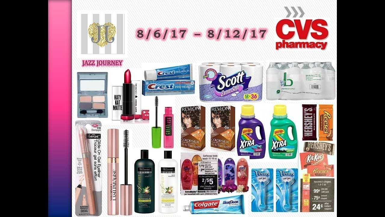CVS deals – 8/6/17 starts today (w/ some possible freebies)