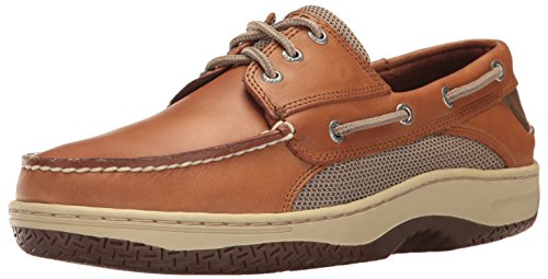 Sperry Top-Sider Men's Billfish 3-Eye Boat Shoe, Dark Tan, 8.5 M US