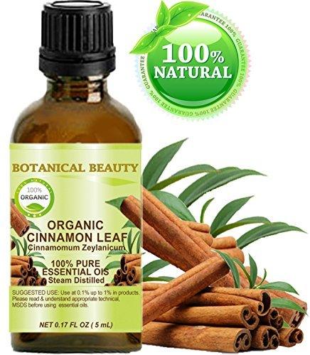 ORGANIC CINNAMON LEAF ESSENTIAL OIL. 100…