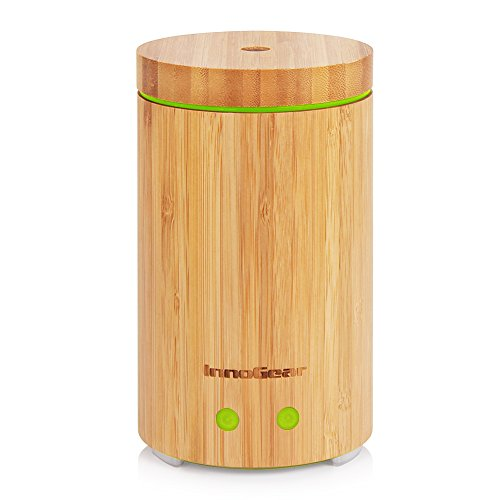 InnoGear Real Bamboo Essential Oil Diffu…