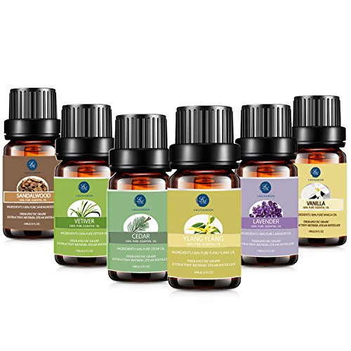 Essential Oil Set, Lagunamoon Premium Th…