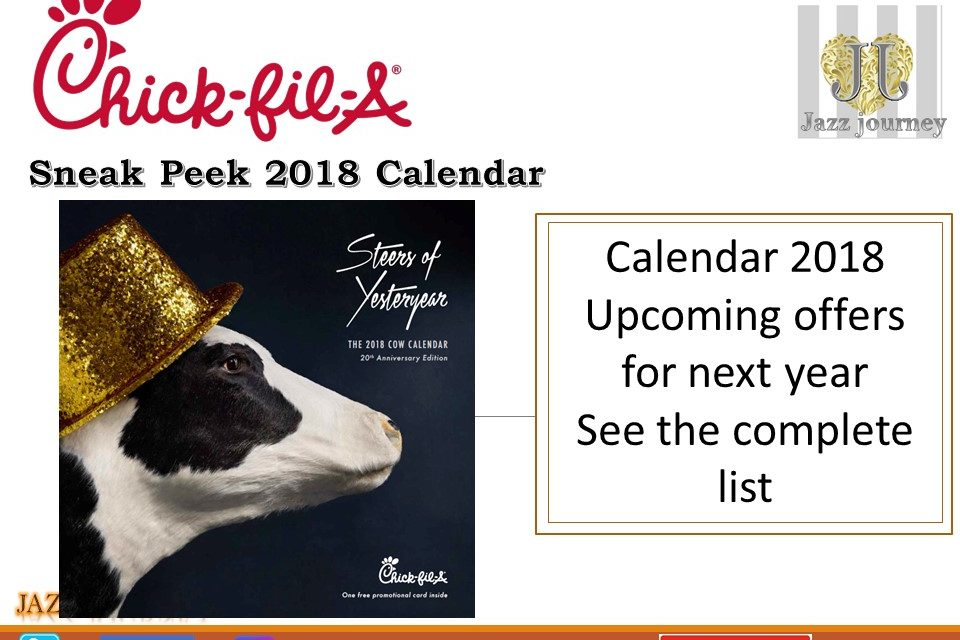 chick fil a calendar card newcalendar. Black Bedroom Furniture Sets. Home Design Ideas