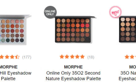 Ulta: Morphe items now available (starting at $3.50)