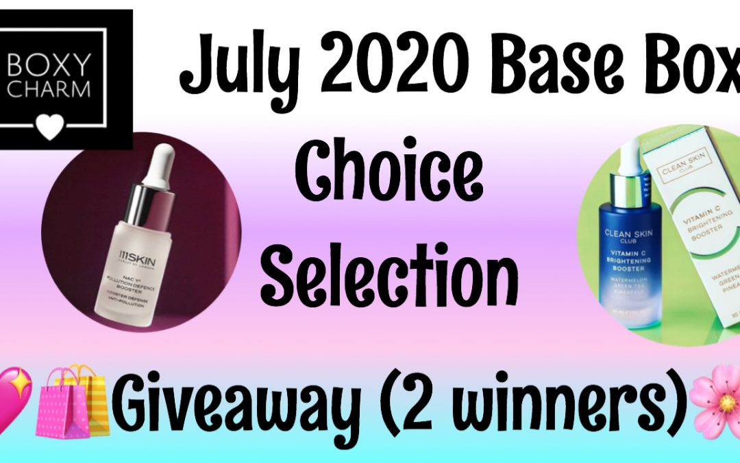 June 2020 Makeup Giveaway (2 Winners) Ends 6/30/20