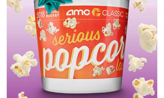 AMC Popcorn Bucket (as low as $17.80) & FREE X-Large Fountain Drink