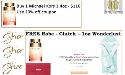 Ulta: Michael Kors Wonderlust 3.4oz – $89.60 (FREE Robe, Clutch & 1oz Perfume)