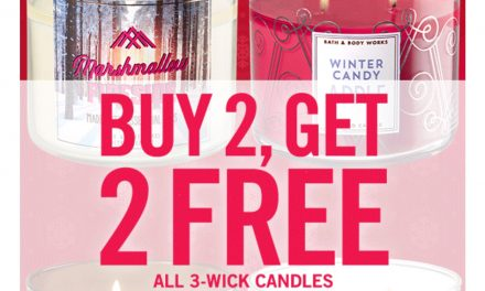 Bath & Body Works 3-wick candles (as low as $9.19 ea) Today Only