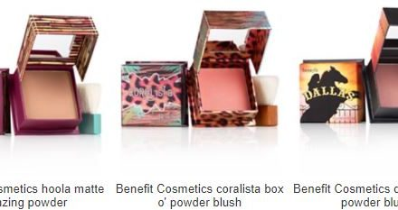 Macys: Benefit Blush or Bronzer – $14.50 (cash back available)
