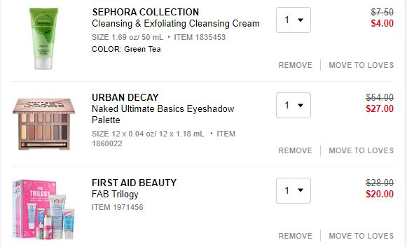 Sephora: First Aid FAB & Urban Decay Palette (all for $31)