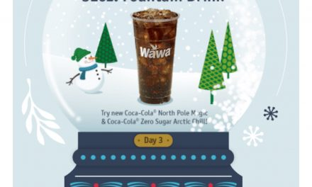 Wawa 12/3: FREE 32oz Fountain Drink
