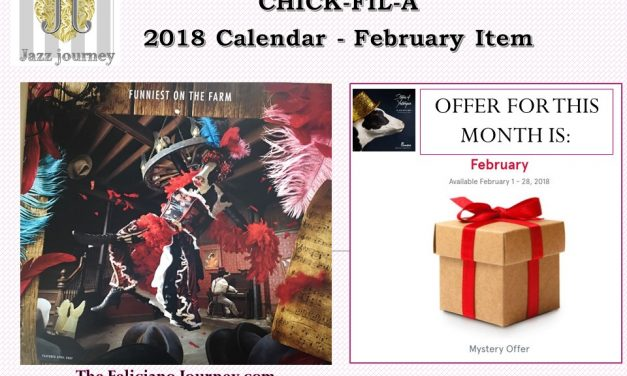 Chick Fil A – February 2018 Calendar (reminder)