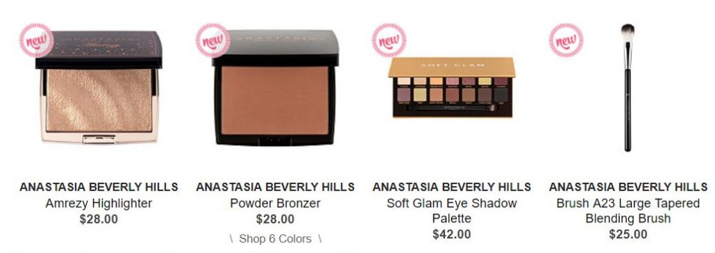 Ulta: Anastasia Beverly Hills New Items (find out how you can save $10)