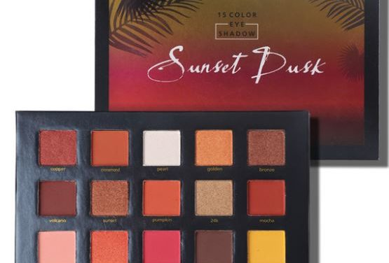 AliExpress: Beauty Glazed Sunset Dusk EyeShadow Palette – $6.99 (one day only)