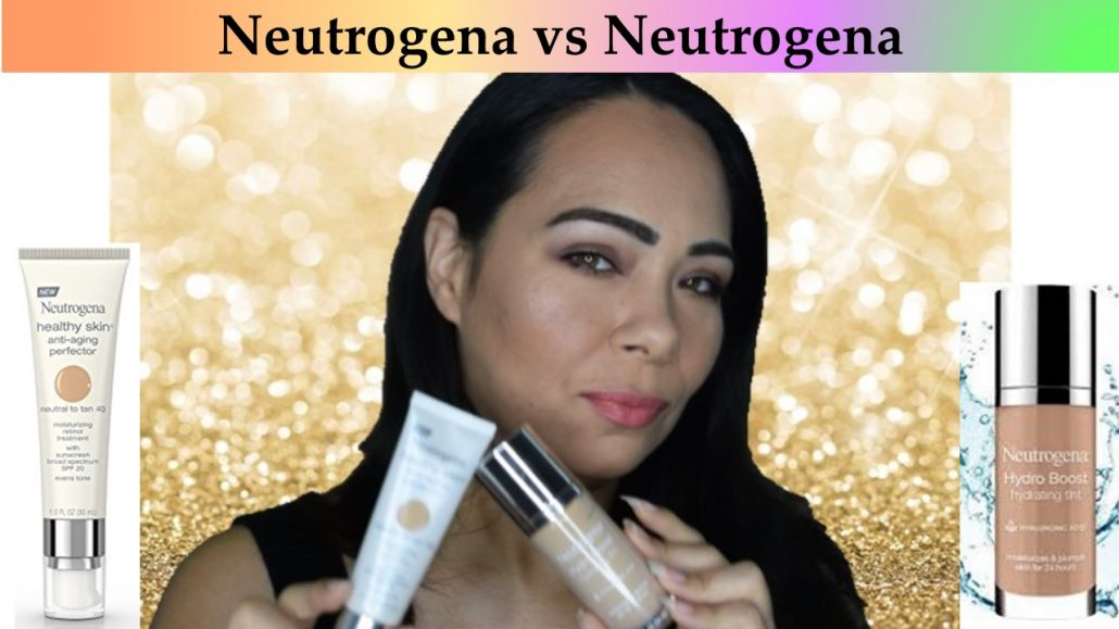 Makeup Battle: Neutrogena Hydro Boost vs Neutrogena Healthy Skin