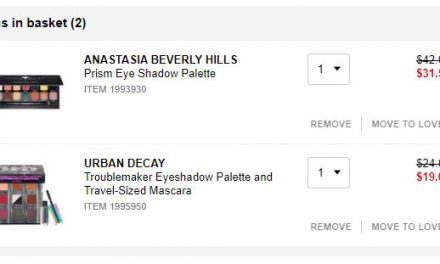 Sephora: ABH & Urban Decay both for $25.78 from $66 (VIB sale)