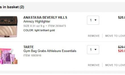 Sephora: ABH & Tarte both for $23.76 from $57 (VIB sale)