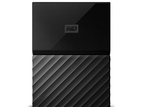WD 4TB Black My Passport  Portable Exter…