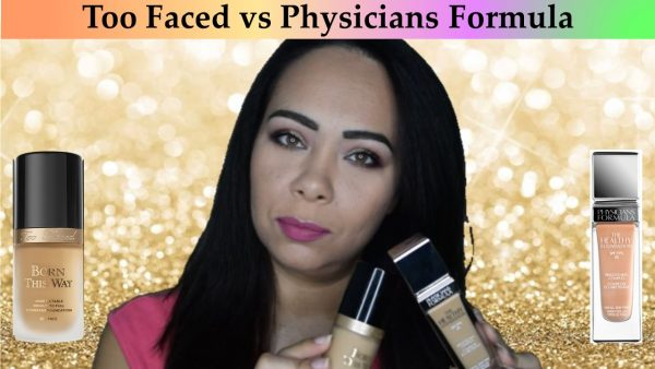 Makeup Battle: Born This Way vs The Healthy Foundation