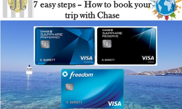 7 easy steps to book your travel using Chase Sapphire points