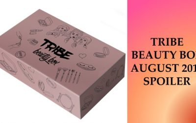 Tribe Beauty Box (August 2018) 2 Sneak Peek Items (expecting 7 products)