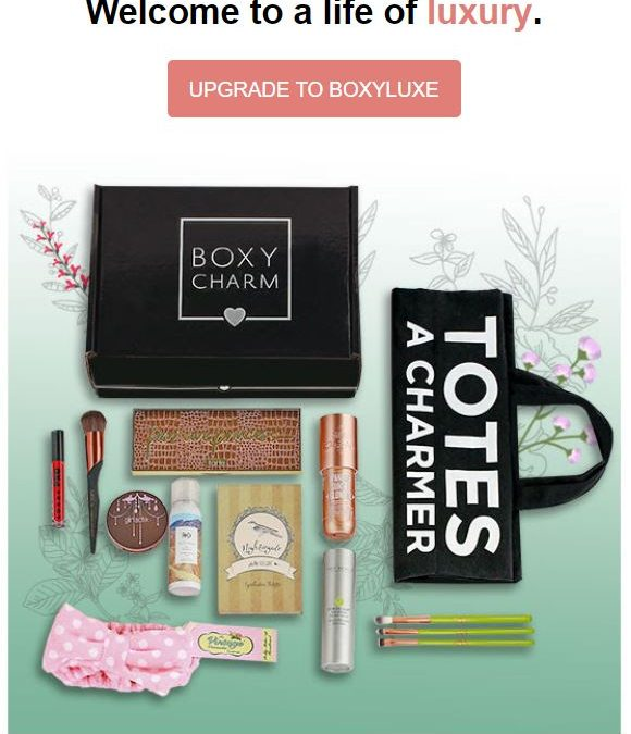 BoxyLuxe September 2018 Full Spoiler