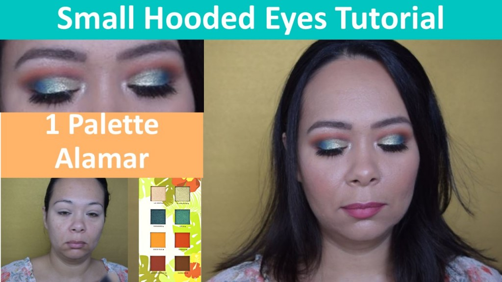 Small Hooded Eyeshadow Tutorial (using 1 Palette)