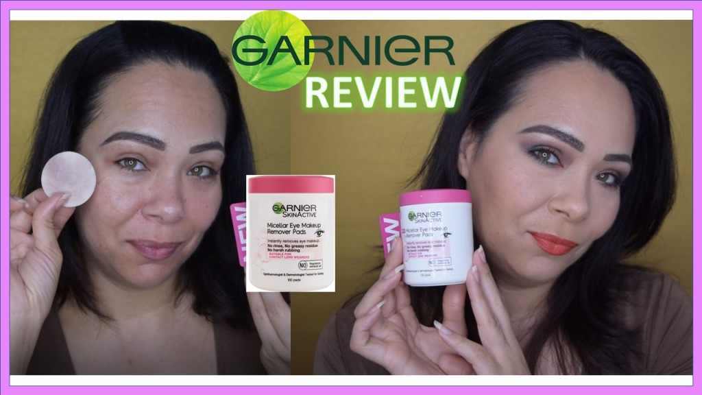 Do They Work ?! Garnier Micellar Eye makeup Remover Pads