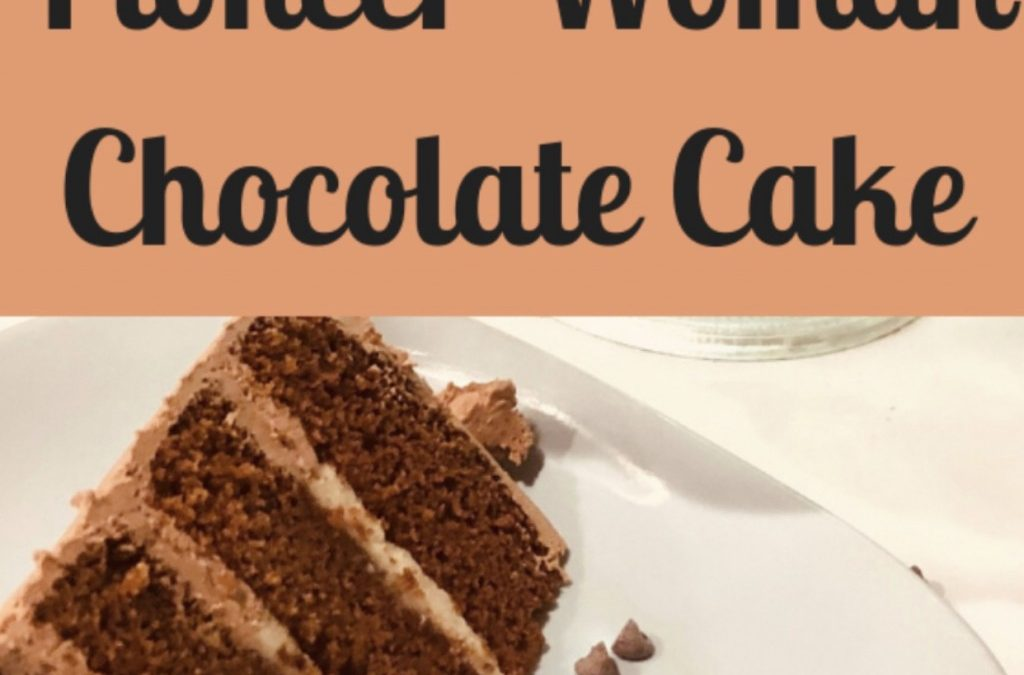 Pioneer Woman Chocolate Cake with Mascarpone Almond Filling and Chocolate Frosting