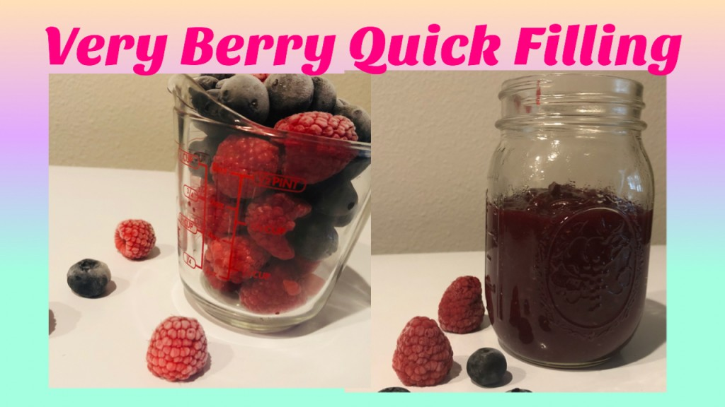 A Very Berry Quick Filling Recipe