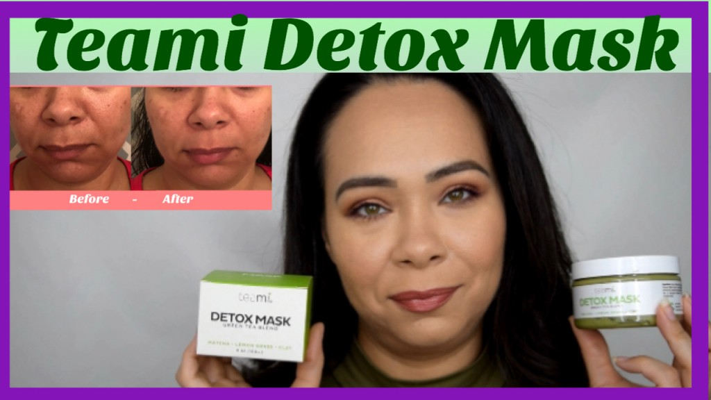 Teami Detox Mask Review on Sensitive Skin (Before & After)