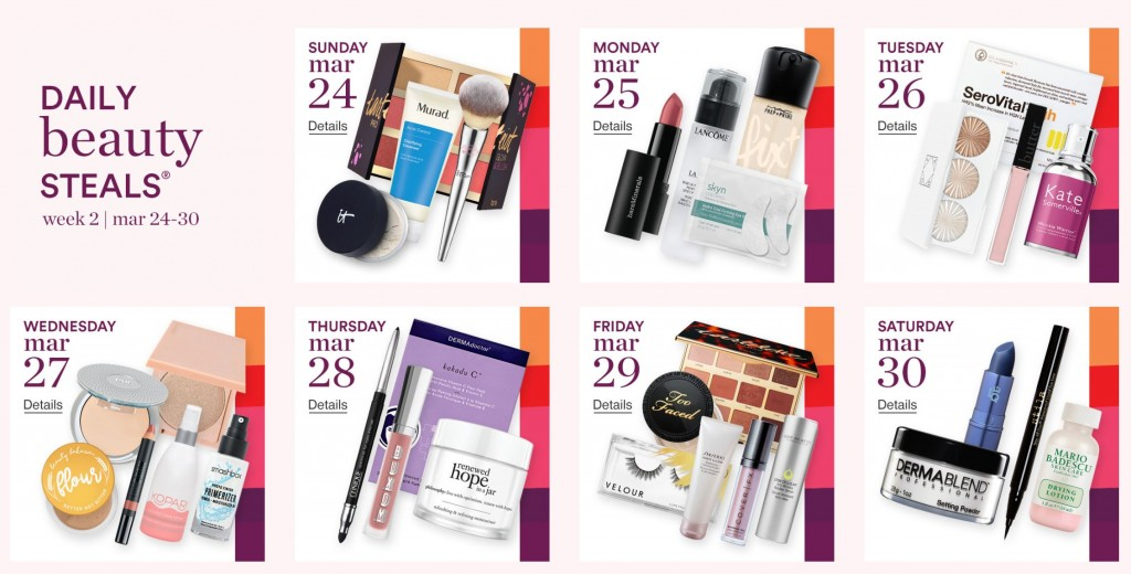 Ulta 21 Days of Beauty Event 2019 (Week 2) 3/24 – 3/30 (My recommendations)