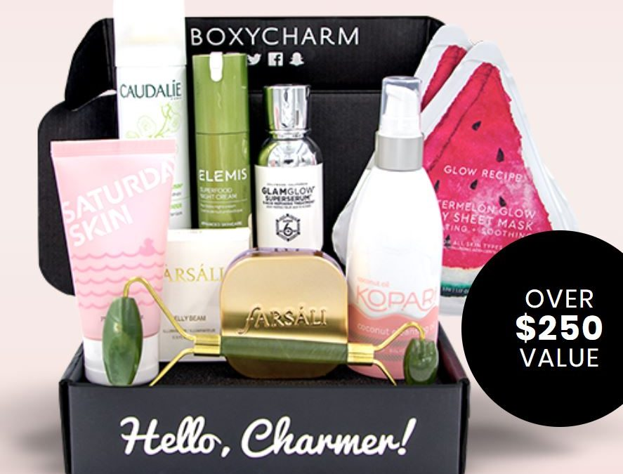 Boxycharm Skincare is available to purchase (May 2019)