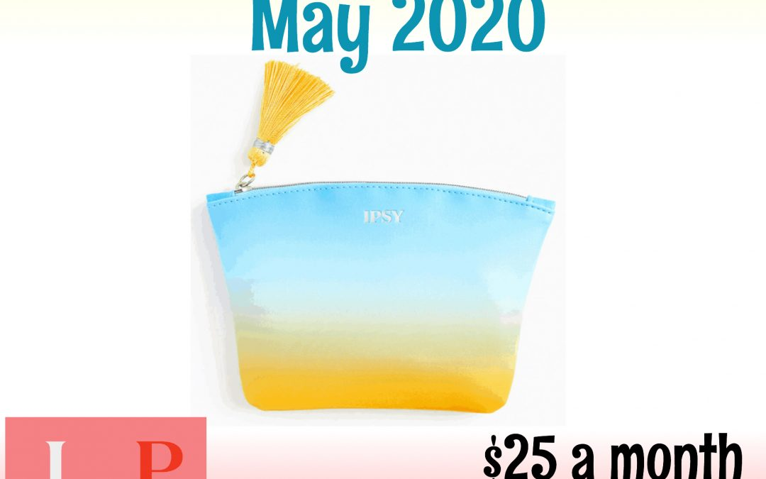 Ipsy Glam Bag Plus May 2020 Full Box Reveal