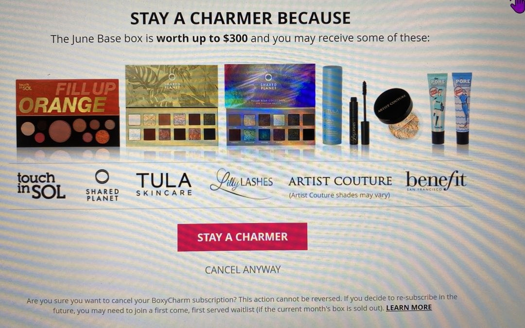 Boxycharm Base Box – June 2020 Sneak Peek 15 items