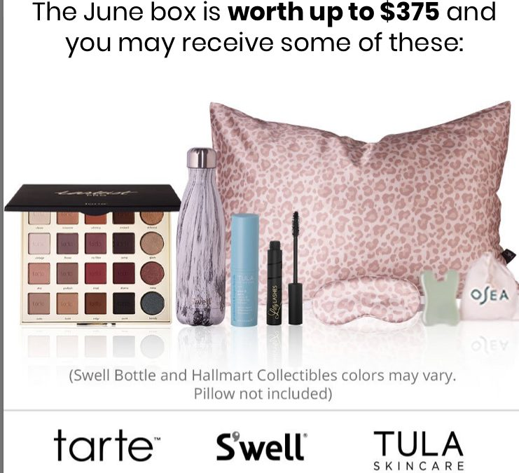 Boxyluxe June 2020 5 Sneak Peeks reveal (Value up to $375)