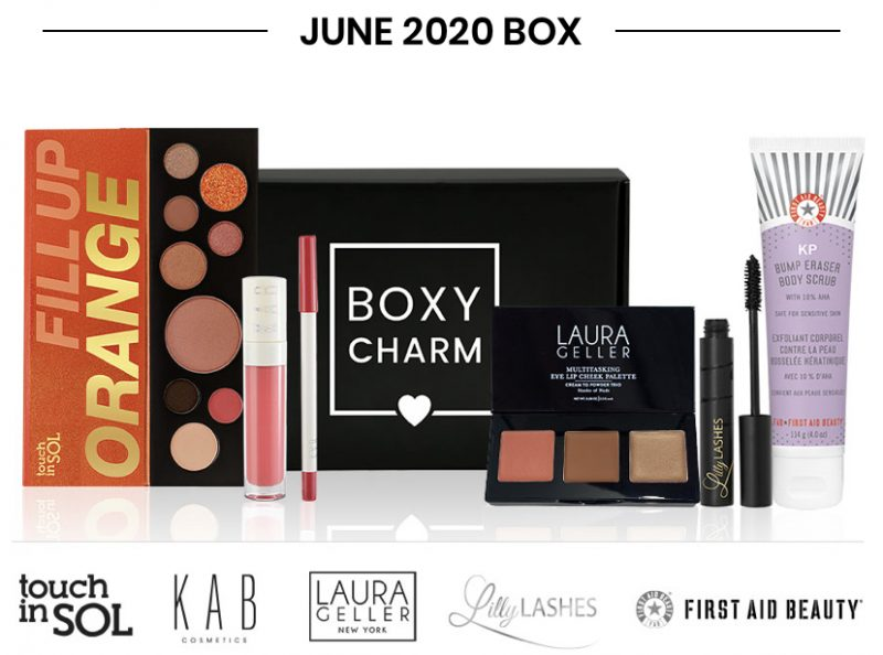 Boxycharm Base Box – June 2020 3 Full Box Reveal
