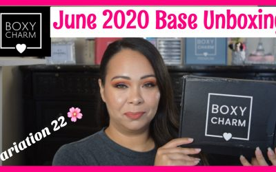 Boxycharm Base Box – June 2020 Unboxing – Variation 22