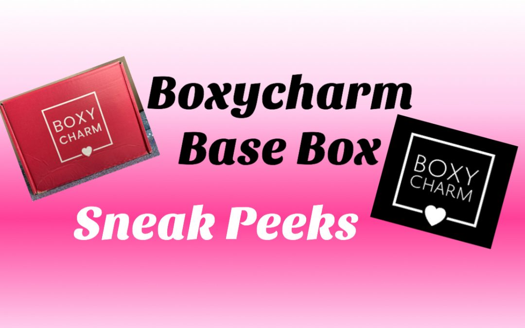 Boxycharm Base September 2020 Sneak Peeks & Choice Items (Choice is Open)